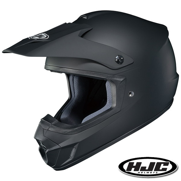 HJC CS-MX II ソリッド オフロードヘルメット 【ラバートーンブラック M(57-58cm):HJH102】
