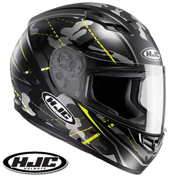 HJC CS-15 ソンタン フルフェイスヘルメット 【イエロー S(55-56cm):HJH114 SONGTAN】