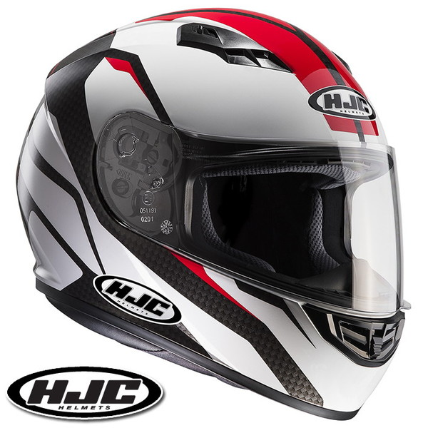HJC CS-15 セブカ フルフェイスヘルメット 【レッド L(59-60cm):HJH116 SEBKA】