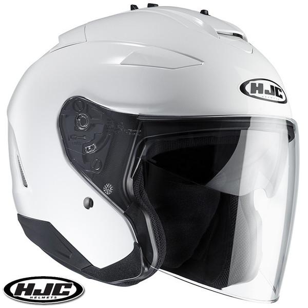 HJC IS-33 II ソリッド ジェットヘルメット 【ホワイト XL(61-62cm):HJH120】