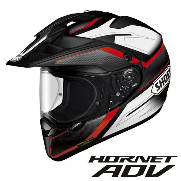 ショウエイ HORNET ADV SEEKER (ホーネット ADV シーカー) オフロードヘルメット 【TC-1(RED/BLACK) Mサイズ】
