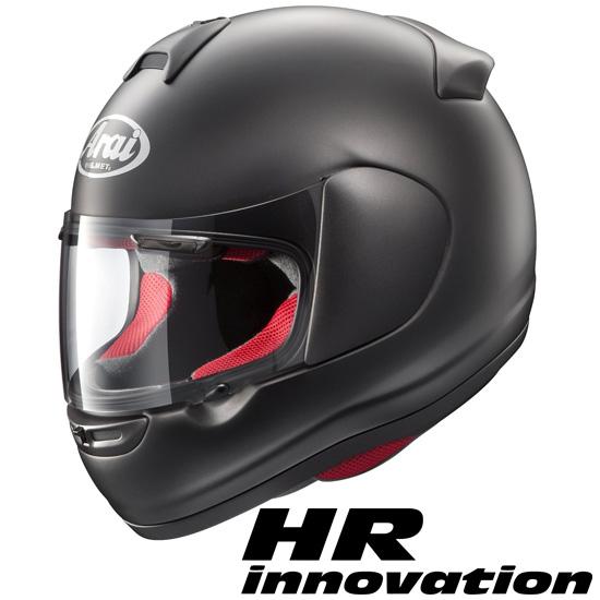 アライ×山城 HR-Innovation(HRイノベーション) フルフェイスヘルメット 【フラットブラック XLサイズ】