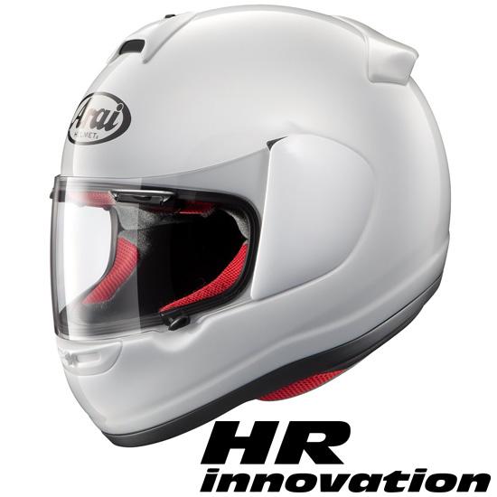 アライ×山城 HR-Innovation(HRイノベーション) フルフェイスヘルメット 【白 Sサイズ】