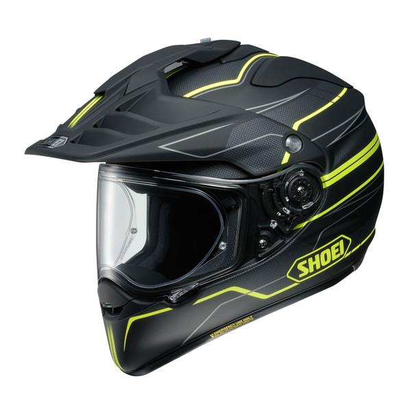 ショウエイ HORNET ADV NAVIGATE 【TC-3(YELLOW/BLACK) XLサイズ】 ナビゲート オフロードヘルメット(マットカラー)