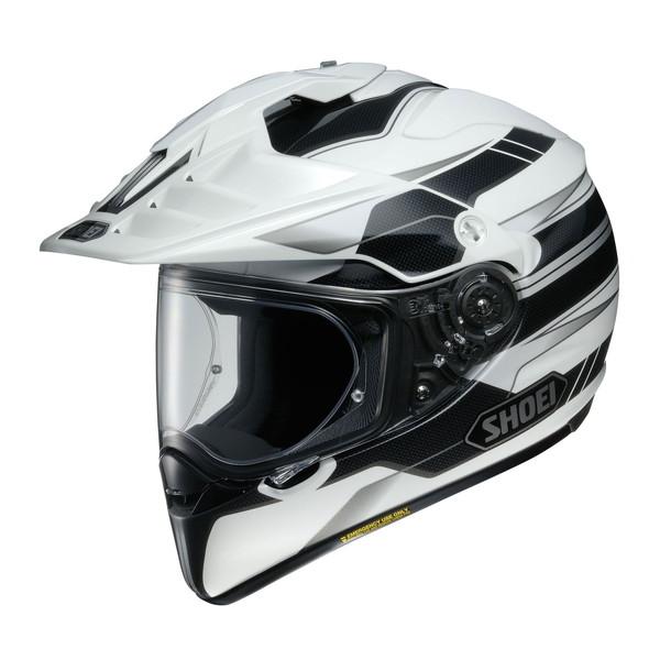 ショウエイ HORNET ADV NAVIGATE 【TC-6(WHITE/BLACK) XLサイズ】 ナビゲート オフロードヘルメット