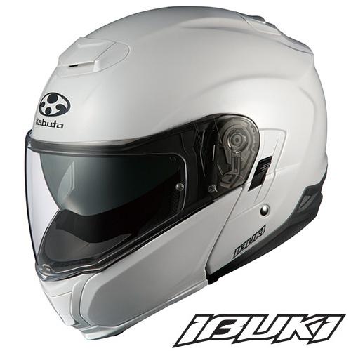 OGK IBUKI(イブキ) システムヘルメット 【パールホワイト Mサイズ】