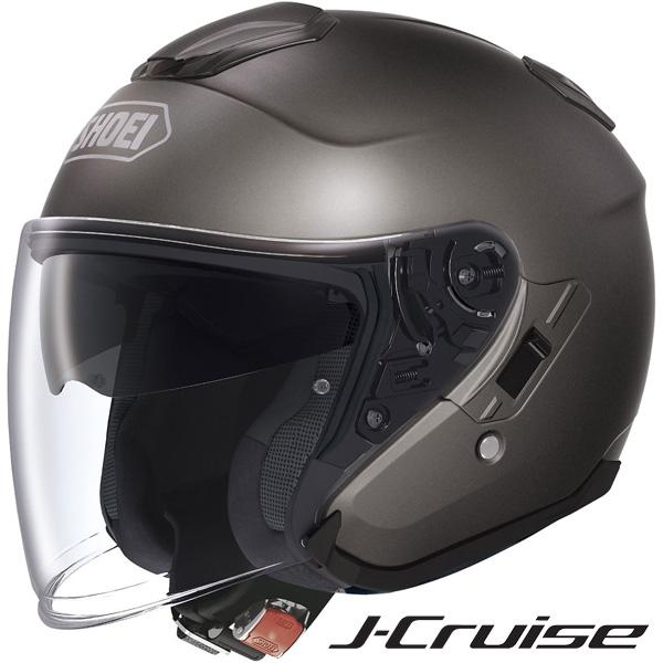 ショウエイ J-Cruise (Jクルーズ) ジェットヘルメット 【アンスラサイトメタ Mサイズ】
