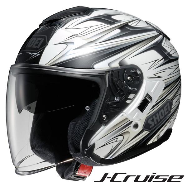 ショウエイ J-CRUISE CLEAVE (Jクルーズ クリーブ) ジェットヘルメット 【TC-6(WHITE/GREY) XXLサイズ】