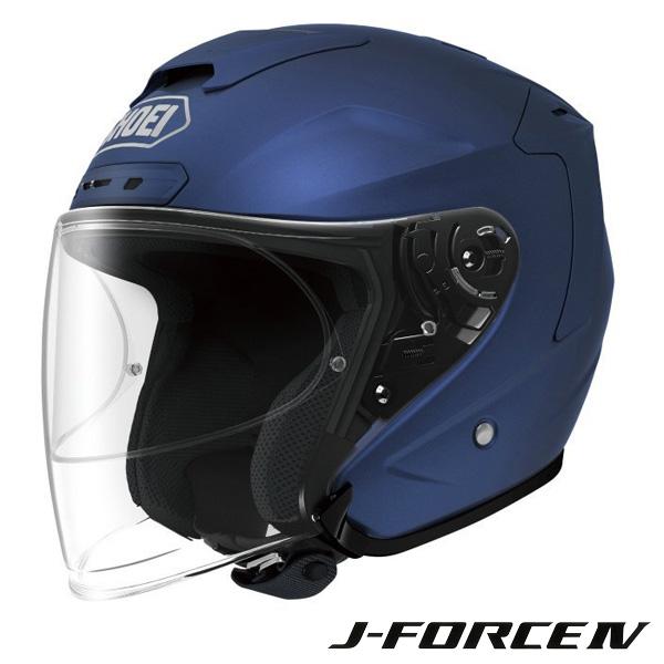 ショウエイ J-FORCE 4 (Jフォース4) ジェットヘルメット 【マットブルーメタリック Sサイズ】