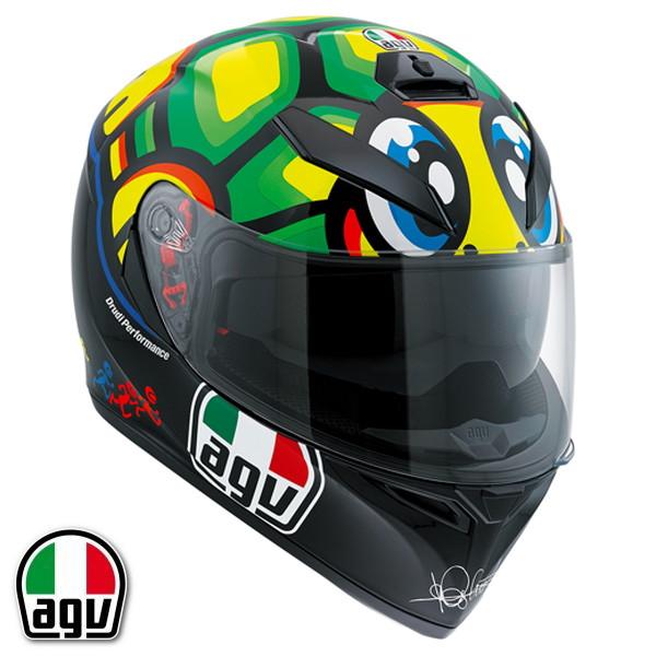 AGV K-3 SV TARTARUGA フルフェイスヘルメット バレンティーノ・ロッシ レプリカモデル 【L(59-60cm)サイズ】 【SG規格/日本国内正規代理店品】