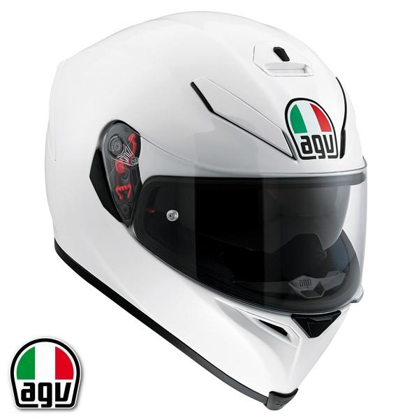 AGV K-5 S フルフェイスヘルメット【パールホワイト M(57-58cm)サイズ】 【SG規格/日本国内正規代理店品】