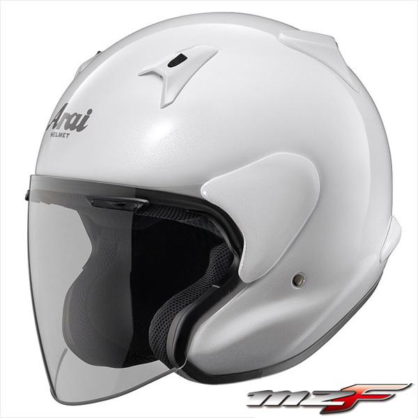 アライ MZ-F ジェットヘルメット 【グラスホワイト Mサイズ】