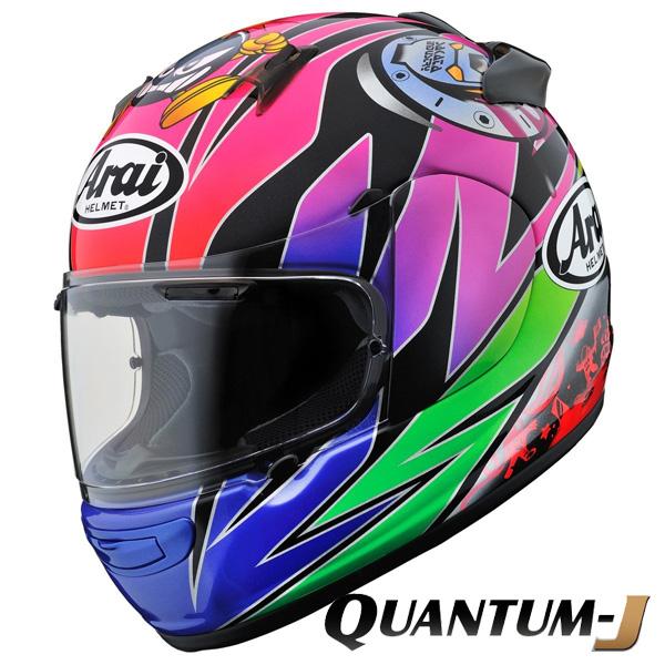 アライ×東単 QUANTUM-J SAKATA 【L(59-60cm)サイズ】 (クアンタムJ サカタ) フルフェイスヘルメット