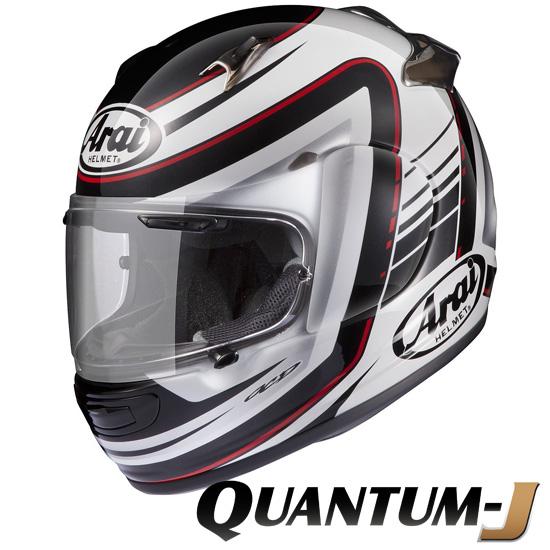 アライ×山城 QUANTUM-J STRIPE (クアンタムJ ストライプ) フルフェイスヘルメット 【Sサイズ】