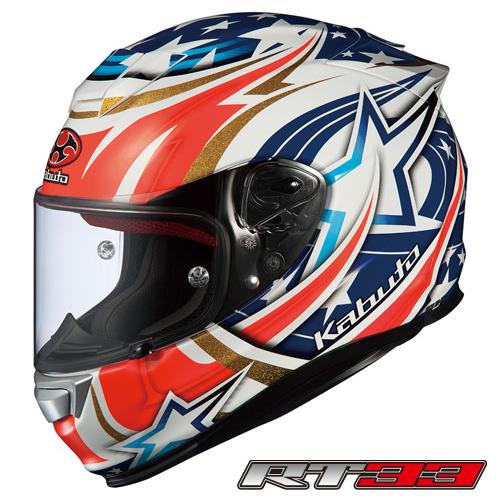 OGK RT-33 ACTIVE STAR (アクティブ スター) フルフェイスヘルメット 【ホワイト Mサイズ】