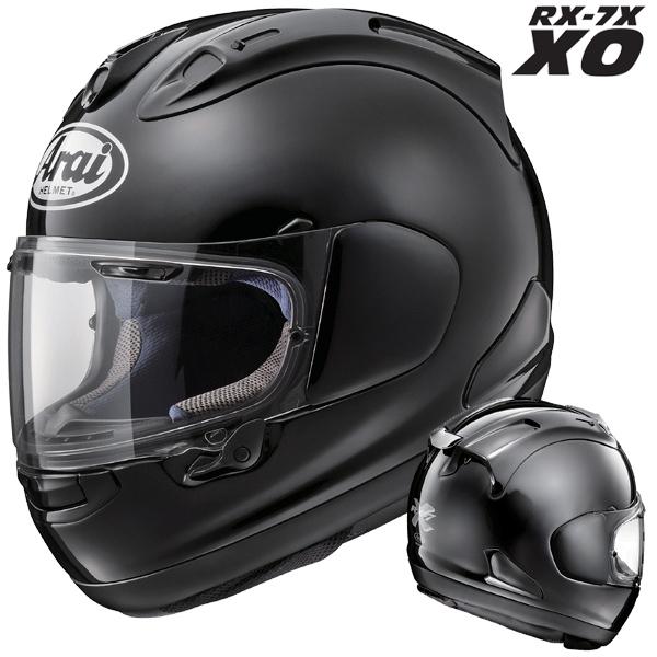 アライ RX-7X XO フルフェイスヘルメット【グラスブラック 65-66cm】