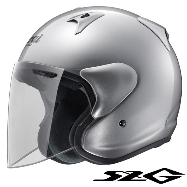 アライ SZ-G ジェットヘルメット 【アルミナシルバー Mサイズ】