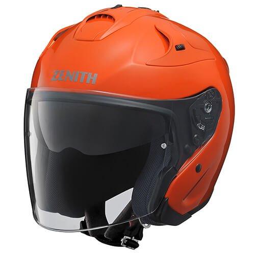 ヤマハ YJ-17 ZENITH-P 【ダークオレンジ Lサイズ】 YJ17 ゼニス ピンロック ジェットヘルメット 90791-2325L