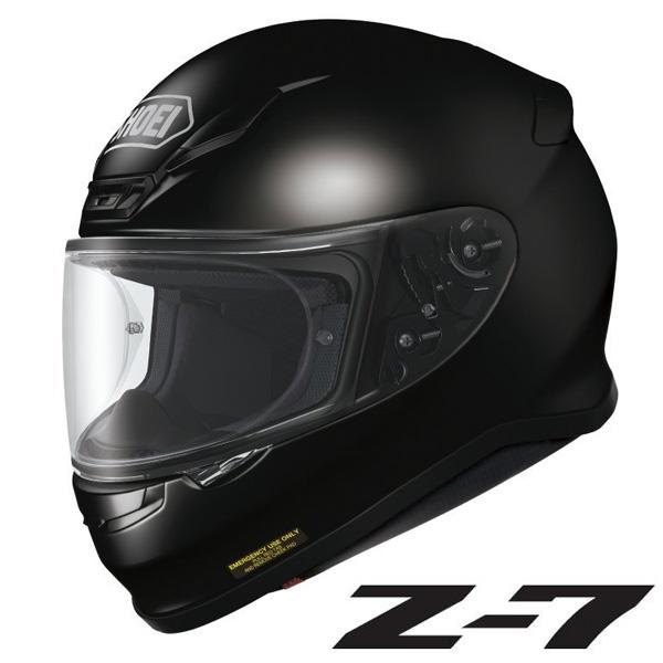 ショウエイ Z-7 (ゼット-セブン) フルフェイスヘルメット 【ブラック Mサイズ】