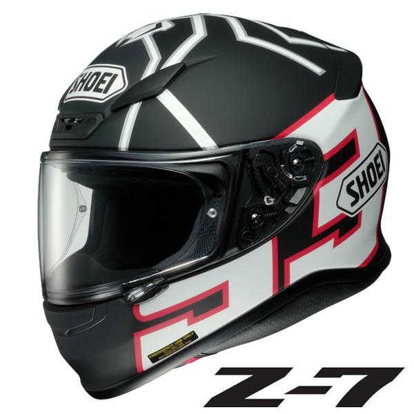ショウエイ Z-7 MARQUEZ BLACK ANT(ゼット-セブン マルケス ブラックアント フルフェイスヘルメット 【Sサイズ】