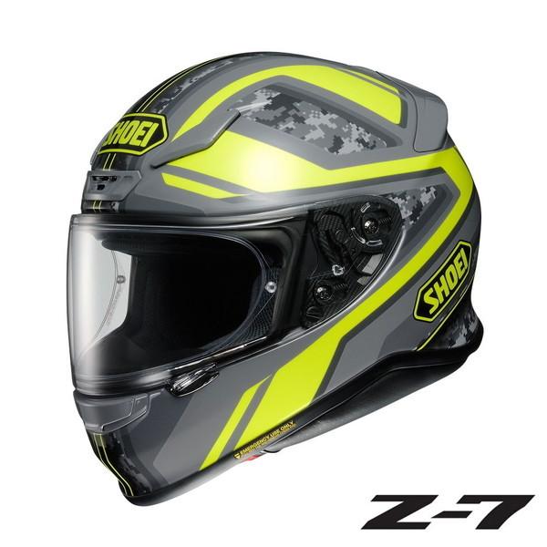 ショウエイ Z-7 PARAMETER (パラメーター) 【TC-3(YELLOW/GREY) Mサイズ】 フルフェイスヘルメット