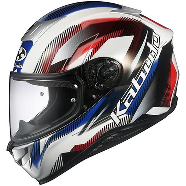 OGKカブト AEROBLADE-5 GO 【ホワイトブルーレッド Sサイズ】 エアロブレード5 フルフェイスヘルメット