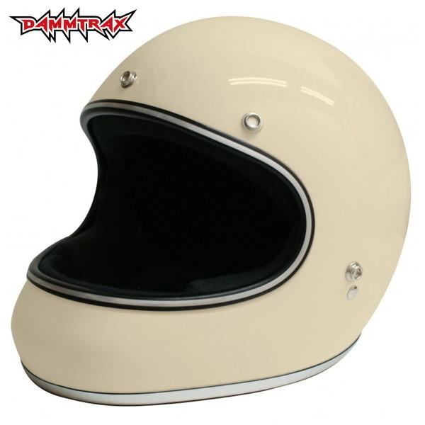ダムトラックス AKIRA 【アイボリー L(59-60cm)サイズ】 アキラ フルフェイスヘルメット