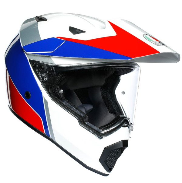 AGV AX9 ATLANTE 【WHITE/BLUE/RED MS(57-58cm)サイズ】 アトランテ マルチパーパス ヘルメット