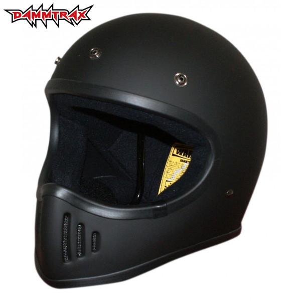 ダムトラックス ザ・ブラスター 改(カイ) 【マットブラック Lサイズ】 BLASTER改 フルフェイスヘルメット