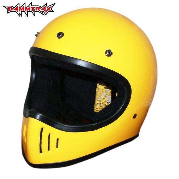 ダムトラックス ザ・ブラスター 改(カイ) 【イエロー Mサイズ】 BLASTER改 フルフェイスヘルメット