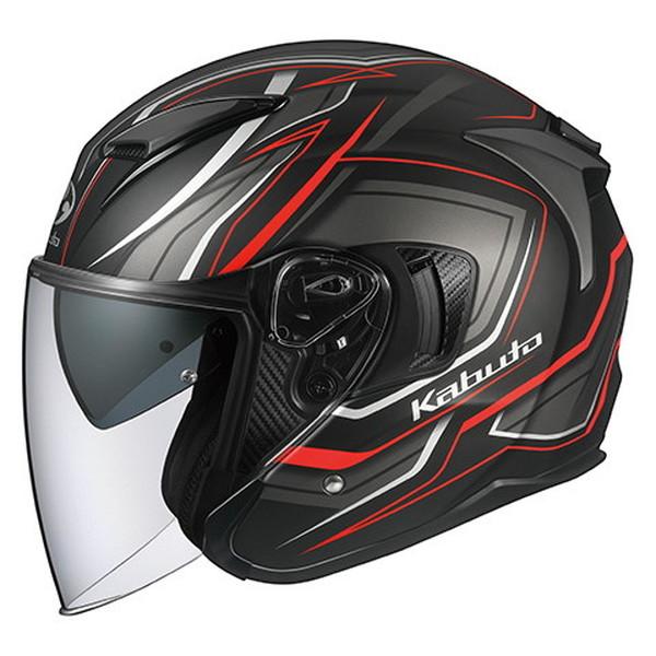 OGK EXCEED CLAW 【フラットブラック XLサイズ】 エクシード クルー ジェットヘルメット