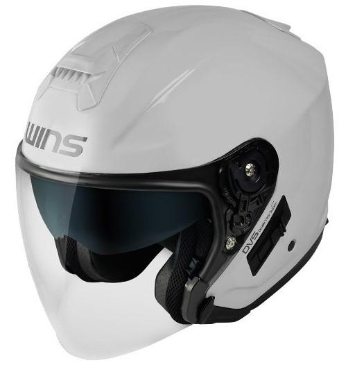 WINS G-FORCE SS JET 【クールホワイト M-Slim】ジェットヘルメット