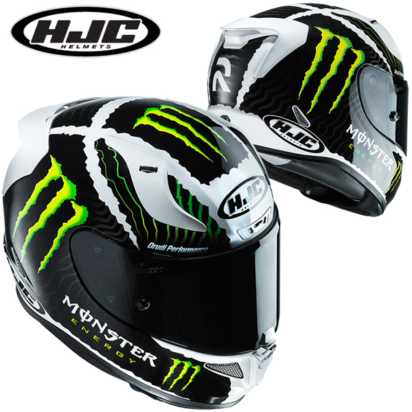 HJC HJH130 RPHA 11 【ミリタリー ホワイトサンド/Lサイズ】 MONSTERコラボ フルフェイスヘルメット