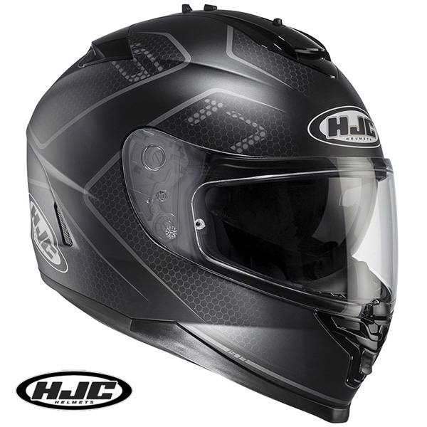 HJC HJH132 IS-17 ランク フルフェイスヘルメット BLACK 【Mサイズ】