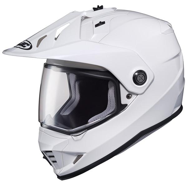 HJC HJH133 DS-X1 ソリッド ホワイト 【XLサイズ】 オフロードヘルメット