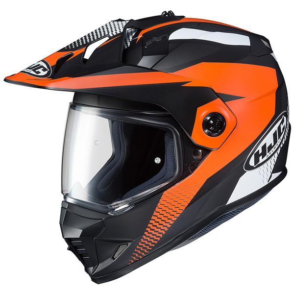 HJC HJH134 DS-X1 エーウィング オレンジ 【Mサイズ】 オフロードヘルメット AWING