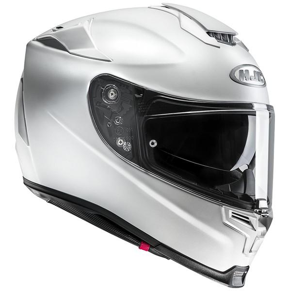 HJC HJH135 RPHA 70 ソリッド セミフラットホワイト 【Mサイズ】フルフェイスヘルメット