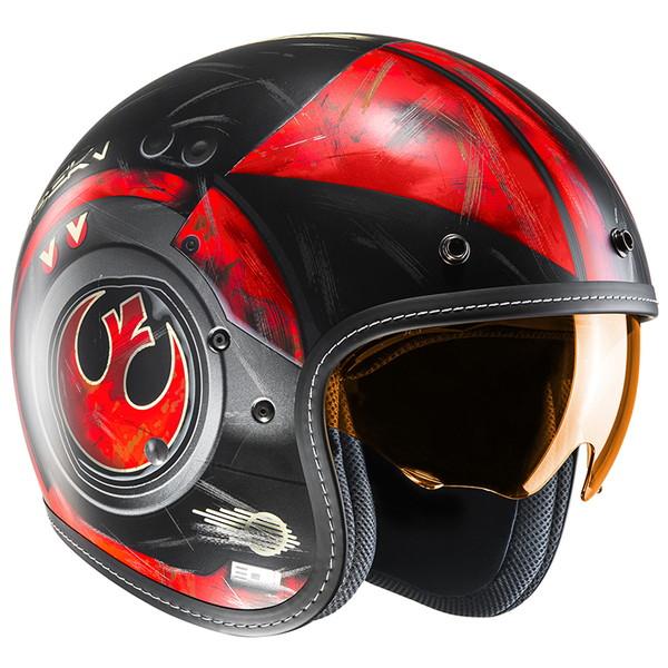 HJC HJH142 STARWARS FG-70S ポー ダメロン 【Lサイズ】ジェットヘルメット POE DAMERON