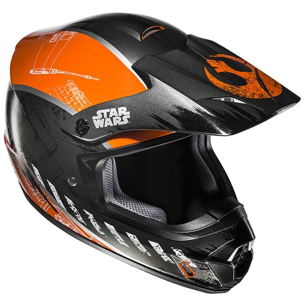 HJC HJH143 STARWARS CS-MX レブル X-WING 【Lサイズ】 オフロードヘルメット REBEL X-WING