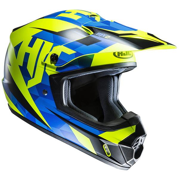 HJC HJH144 CS-MXダコタ ブルー 【XLサイズ】 オフロードヘルメット DAKOTA