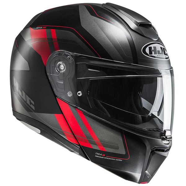 HJC HJH157 RPHA 90 タニスク 【レッド Lサイズ】 システムヘルメット