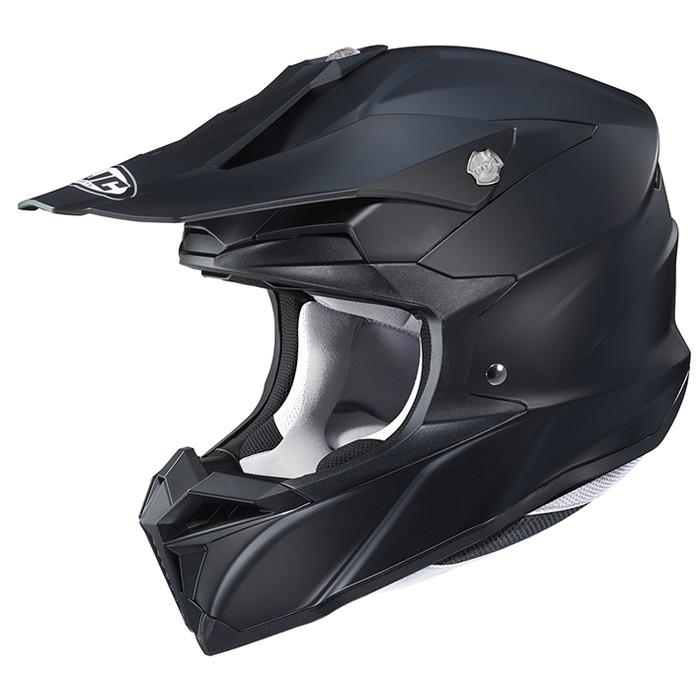 HJC HJH176 i50 ソリッド 【セミフラットブラック XLサイズ】 オフロードヘルメット