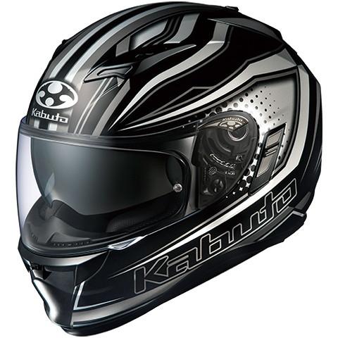 OGK KAMUI-2 GALAN(カムイ2 ギャラン) 【ブラックシルバー Mサイズ】フルフェイスヘルメット