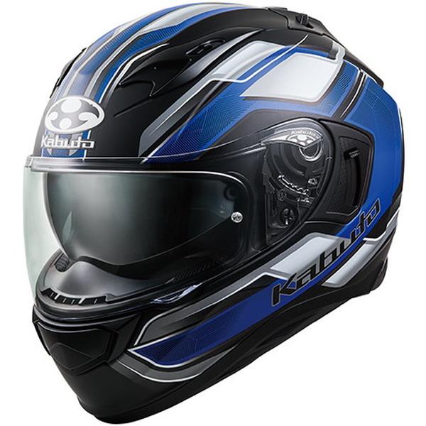 OGKカブト KAMUI-3 ACCEL 【フラットブラックブルー Sサイズ】 カムイ3 アクセル フルフェイスヘルメット