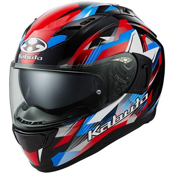 OGKカブト KAMUI-3 STARS 【ブラックブルーレッド Lサイズ】 カムイ3 スターズ フルフェイスヘルメット