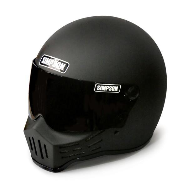 シンプソン M30 【ストーンブラック 59cm】 MODEL 30 フルフェイスヘルメット