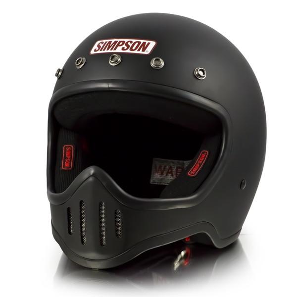 シンプソン M50 【マットブラック 59-60cm】 MODEL 50 フルフェイスヘルメット