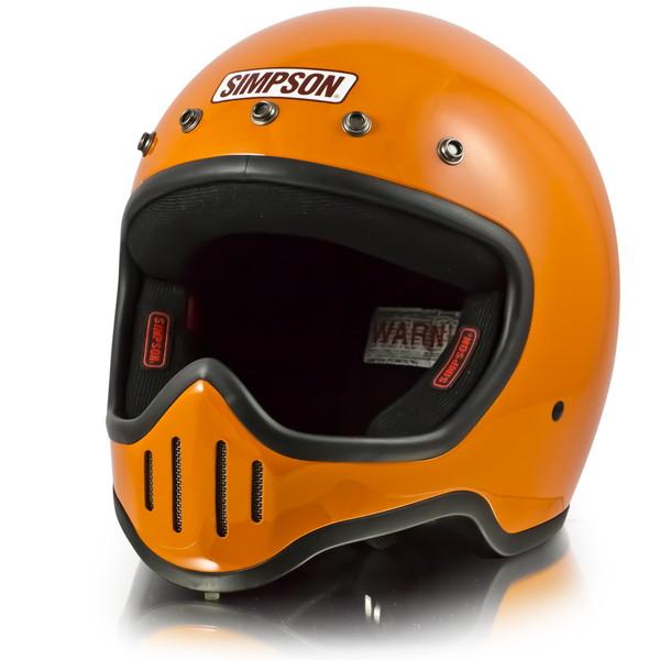 シンプソン M50 【オレンジ 61-62cm】 MODEL 50 フルフェイスヘルメット