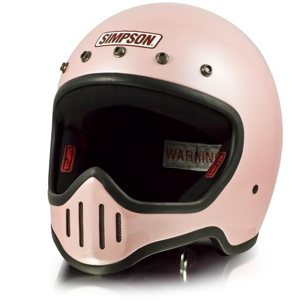 シンプソン M50 【パールピンク 61-62cm】 MODEL 50 フルフェイスヘルメット