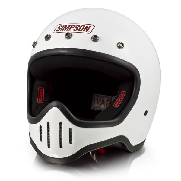 シンプソン M50 【ホワイト 59-60cm】 MODEL 50 フルフェイスヘルメット